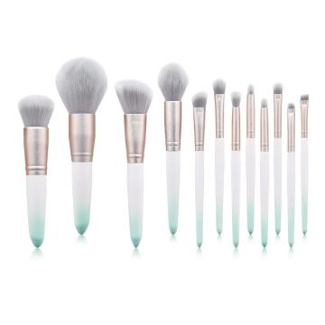 12 Pcs japanese best makeup brushes set private label