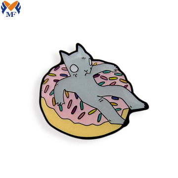 Custom Cartoon Enamel Lapel Pin Badge