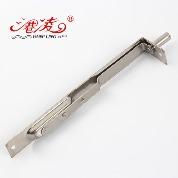 Stainless Steel Flush Mount Hidden Sliding Door Bolt