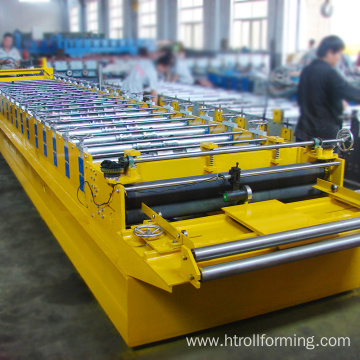 High efficient building material roof tile plate forming machine