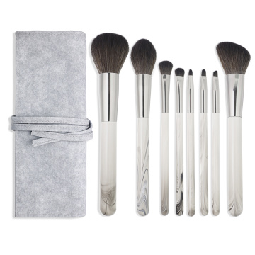 8PCS Bläckdesign Private label foundation makeup brush