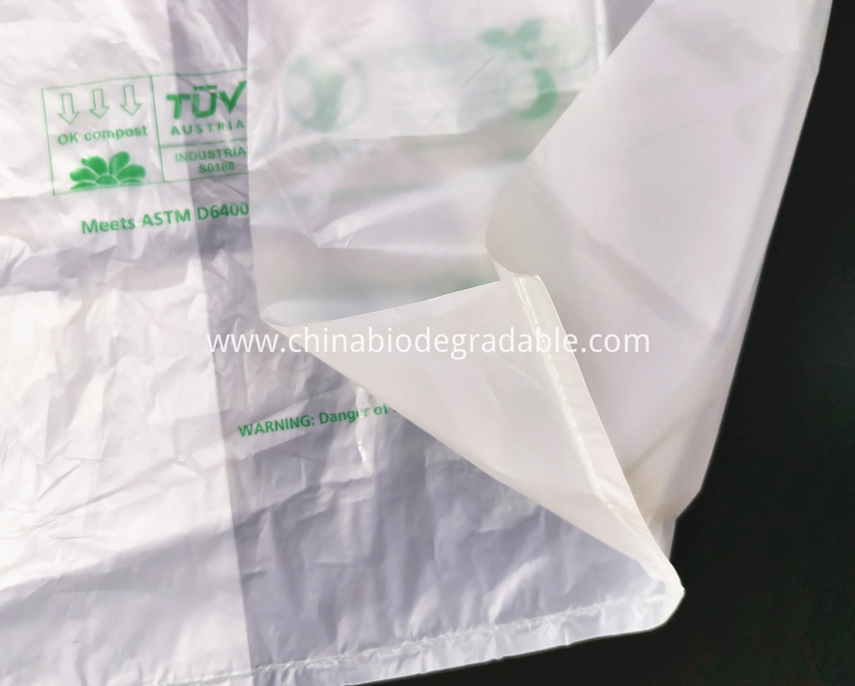 Eco-Friendly Compost Supermarket Shopping Bags