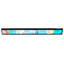 P1.5625 Led Strip Shelf edge Led Displays