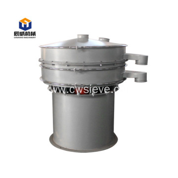 Fully enclosed vibrating sifter for granule