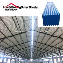 Waterproof Heat-insulating No-asbestos MgO Roofing Sheets