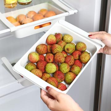 Refrigerator Fresh-keeping Storage Box Bracket Food Storage Box Drawer Novelty Fruit And Vegetable Home Storage Basket