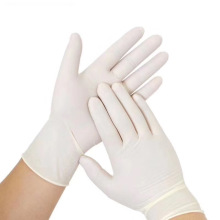hot-sale medical latex examization gloves