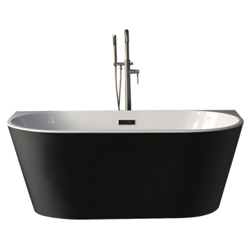 acryBlack Solid Surface Freestanding Bathtubs
