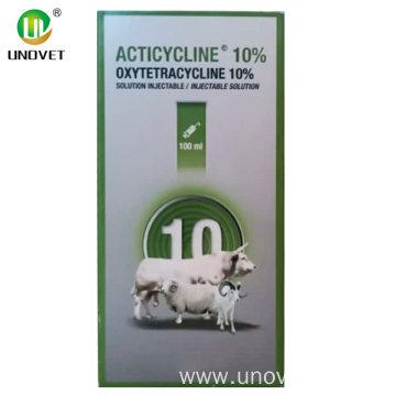10% ACTICYCLINE oxytetracycline injection