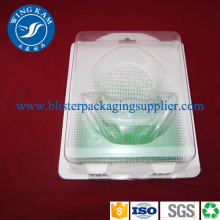 Clear Round Plastic Slide Card Blister Packaging OEM