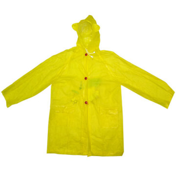 Yellow Kids PVC Rainwear