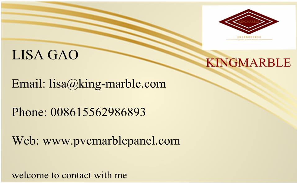 Uv Coating Pvc Marble Wall Panel1