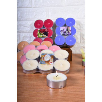 Various Parffin Tealight Candle with Color