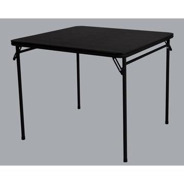black color folding table outdoor desk