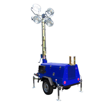 8.5KW Kubota Generator telescopic light tower