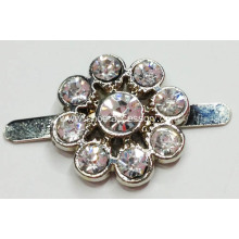 1.8cm Small Metal Rhinestone Shoe Clips
