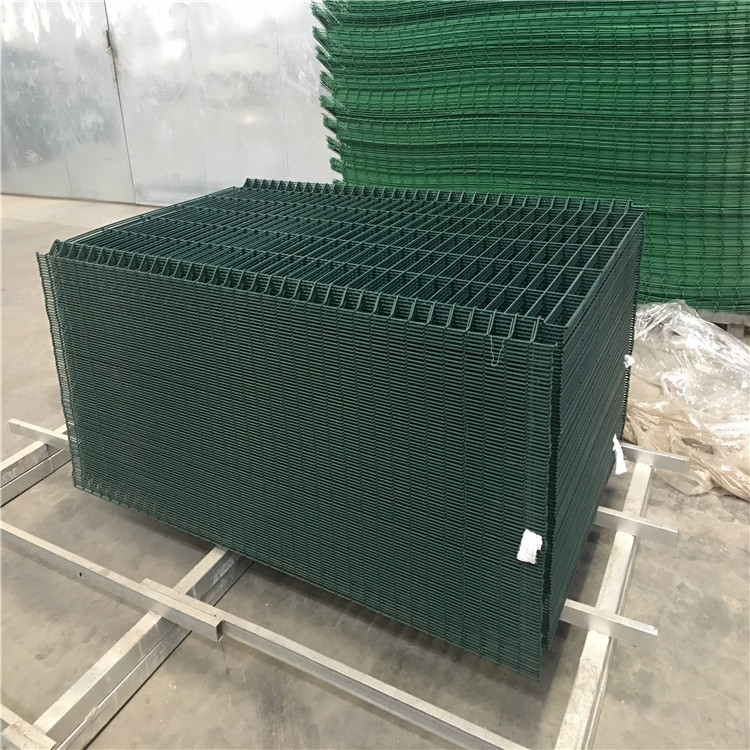 home garden powder coated green fence panels