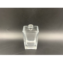Perfume bottle of 50ml rectangular glass bottle