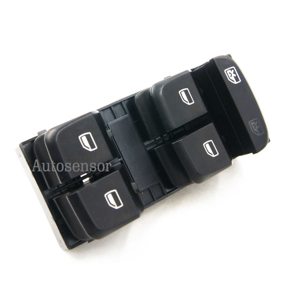 New SORGHUM 8KD959851 8K0959851D Window Control Switch Panel Button Electric Master Power For Audi A4 B8 A5 Q5 2007-2012