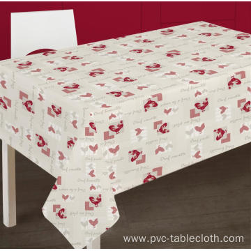 Pvc Printed fitted table covers Uk Cheap