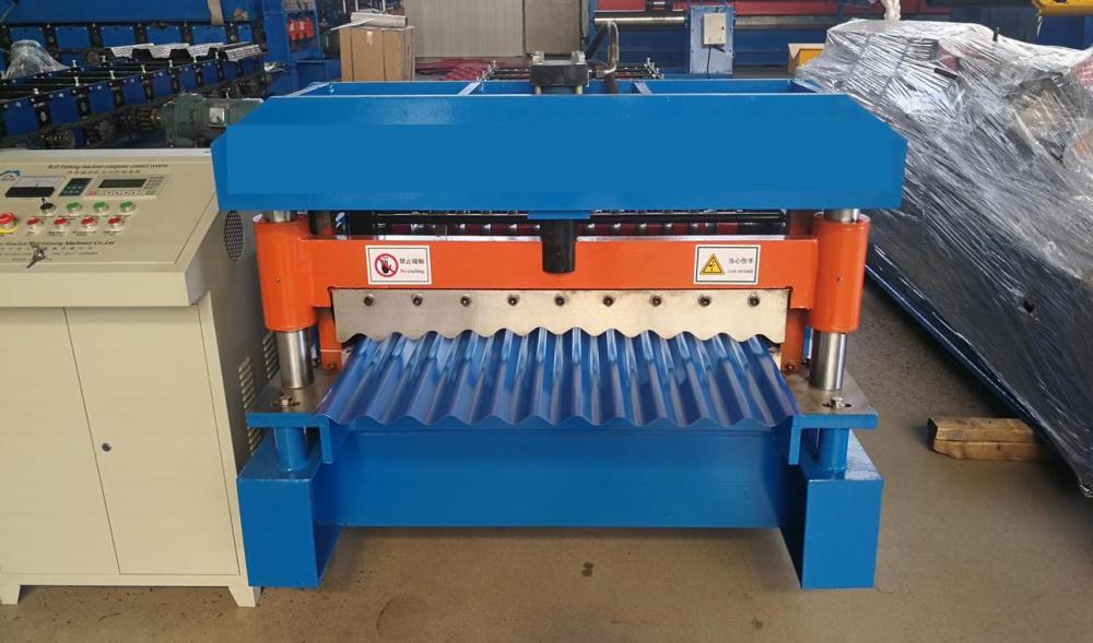 Construction Roof Tile Corrugated Machinery