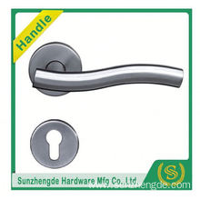 SZD STH-107 Stainless Steel Brass Incert Cylinder Door Handle on Rose