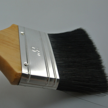 high quality bristle wooden handle paint brush