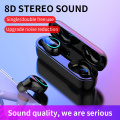 2019 Newest I8-TWS Bluetooth 5.0 Earphones TWS Wireless Stereo Headphones Handsfree Call Sports Earbuds Headset Drop Shipping