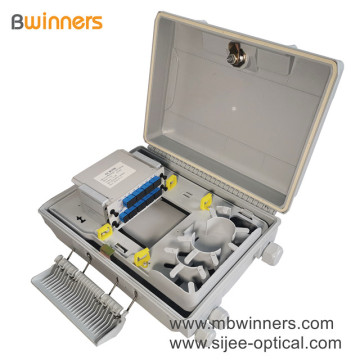 Fiber Optic Distribution Box with 1X16 PLC Splitter