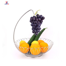 Stainless Steel Fruit Basket with Banana Holder