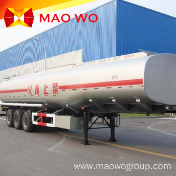 40000L Sainless Steel Fuel Tanker Trailer