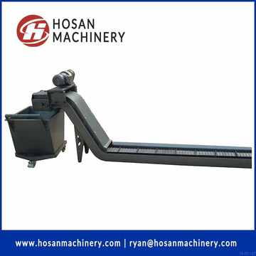 chip conveyor hinged belt type