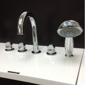 Five Holes Bathtub Mixer Faucet For Bathroom