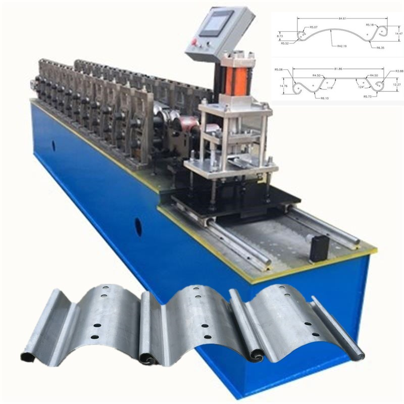 Roller shutter door making machine