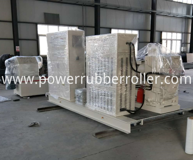 Auto Rubber Roller Rewinder Rubber Machine