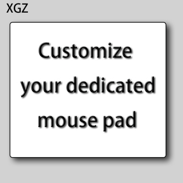 XGZ Customized Personalized Your Own Photo Picture Design Mousepads Unique DIY on Rectangle Rubber Mouse Pad Mat PC Computer