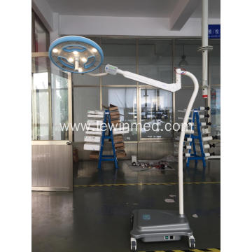 Floor type led lamp with battery