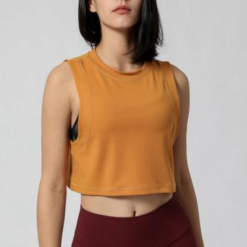 Padded Bra Yoga Crop Tank Tops