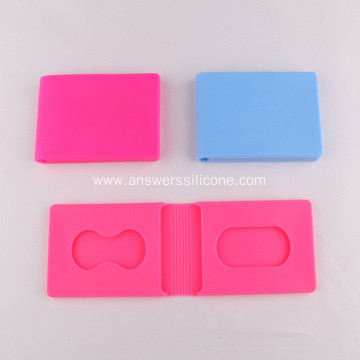 Silicone Rubber Business Card Holder