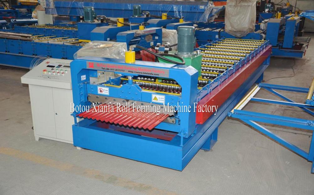 New Design For Arc Color Steel Roof Sheet Machine