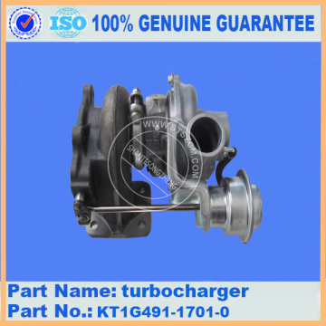 Komatsu spare parts PC56-7 turbocharger KT1G491-1701-0 for engine parts
