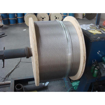 316 stainless steel wire rope 1x19 3.5mm