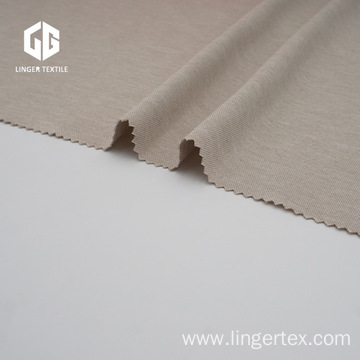Cupro Style Polyester Knitted Fabric With Spandex