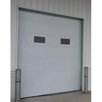 Automatic Sectional Overhead Garage Door with Windows