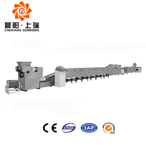 Small frying instant noodle production line