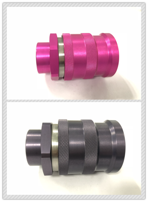 Gray FF0B Female ISO16028 Quick Coupling