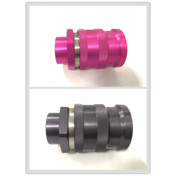 Pink FF0B Female ISO16028 Quick Coupling