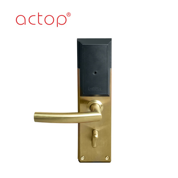Luxurious hotel door locks