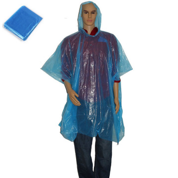 Promotional plastic Disposable Rain Poncho