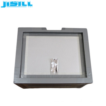 low conductivity fiberglass VIP board cooler box